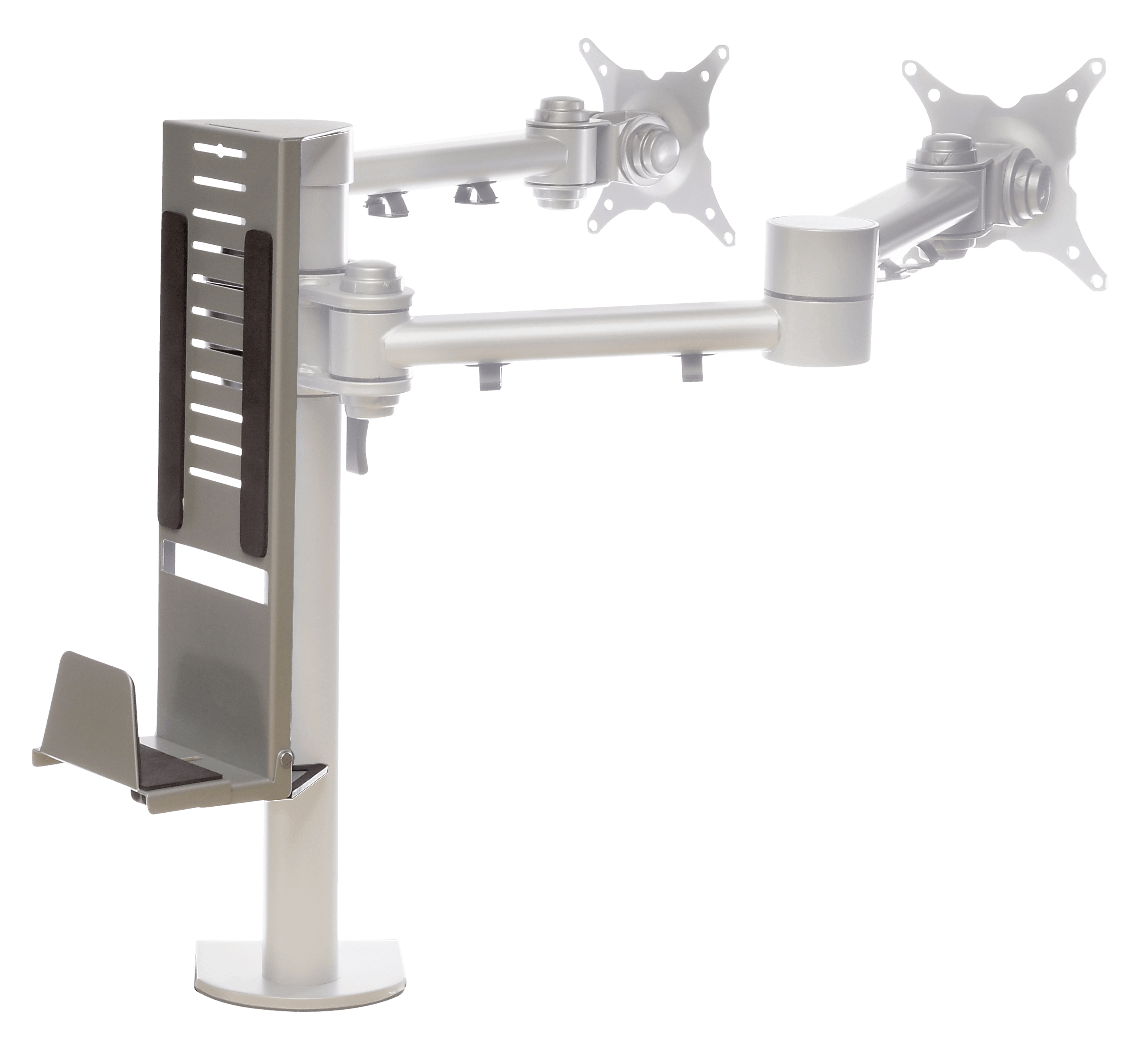 Pole Mounted Small Form CPU Holders