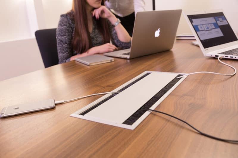 Conference In desk power module