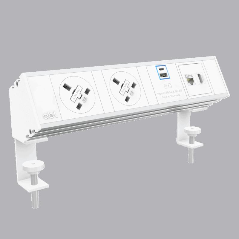 On desk power module