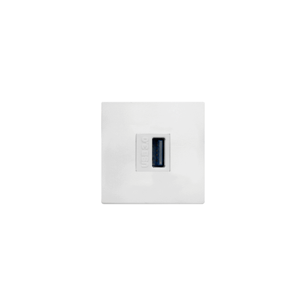 single keystone USB