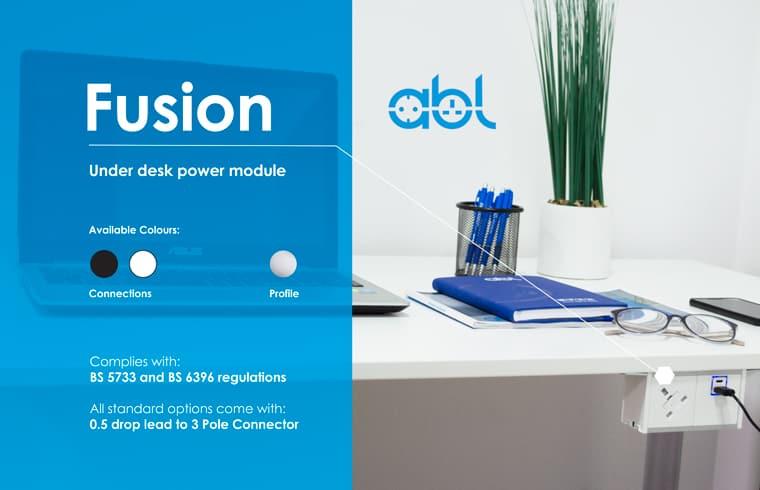 ABL Fusion under desk power module