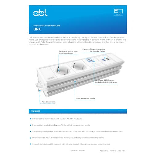 Link Schuko Product Card