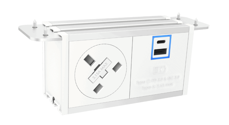 Fusion Under desk Power module