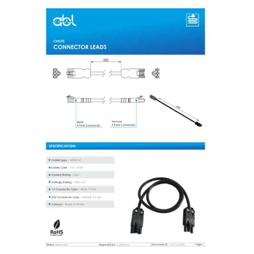 Connector Lead